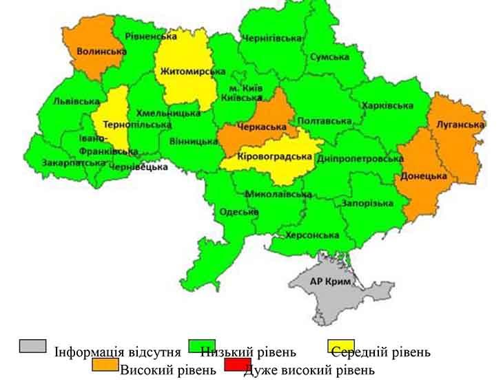Інформаційний бюлетень «Грип та ГРВІ в Одеській області» 17 тиждень (26.04.2021 – 02.05.2021)